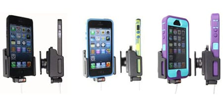 Adjustable Charging iPhone 5 Holders for Lightning to USB
