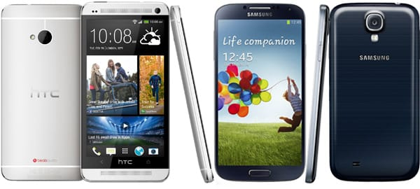 Galaxy S4 vs HTC One