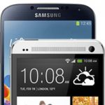 HTC One and Samsung Galaxy S4