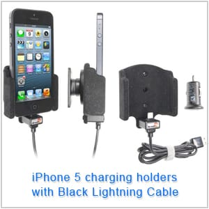 iPhone 5 Charging Holder with Lightning Cable