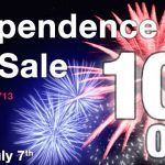Celebrate 4th of July Weekend with 10% Off!