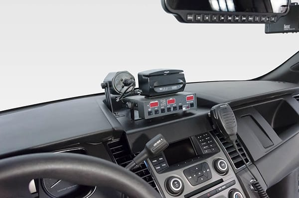 Proclip Mounts Installed In Local Police Cars