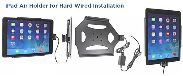 iPad Air Car Mount for Hard Wire Installation