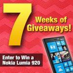 7 Weeks of Giveaways – Nokia Lumia 920