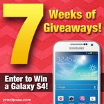 7 Weeks of Giveaways – Samsung Galaxy S4