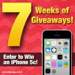 7 Weeks of Giveaways – iPhone 5c