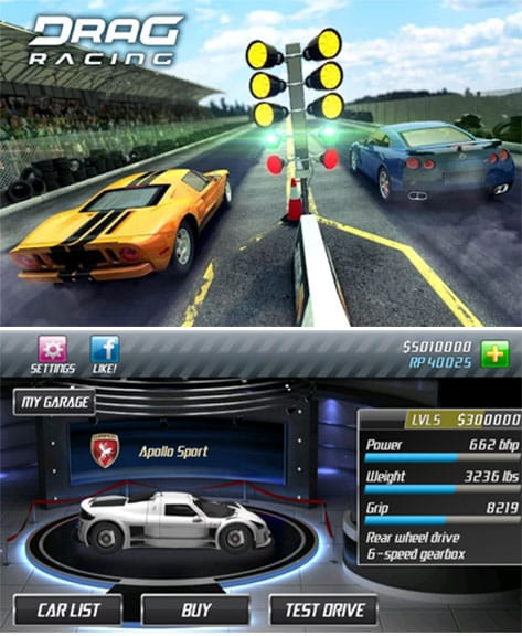 drag-race-game-app