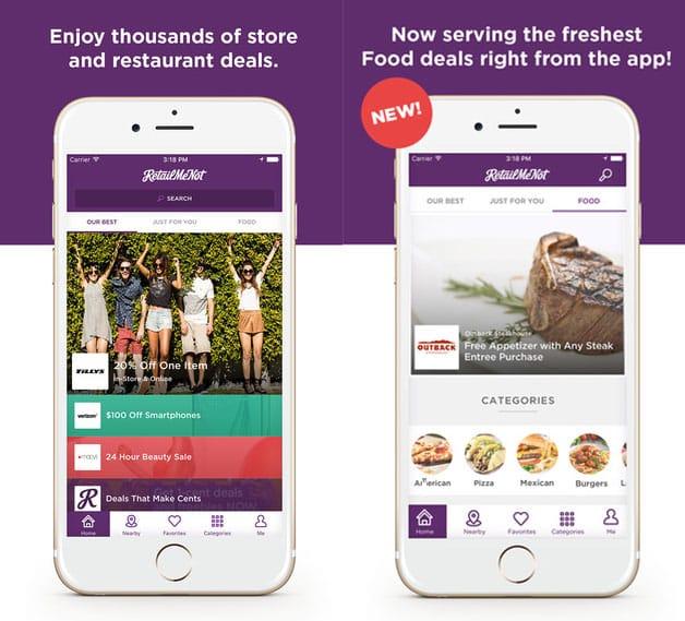 RetailMeNot Shopping App