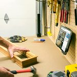 Workbench Tablet Mounts and Home Improvement Apps