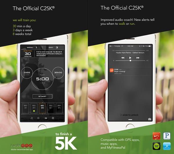 C25K Running App