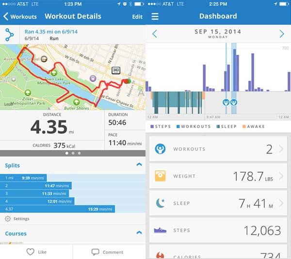 MapMyRun Stroller Running App