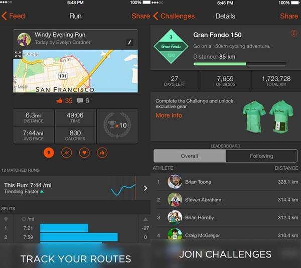 Strava Running Stroller App