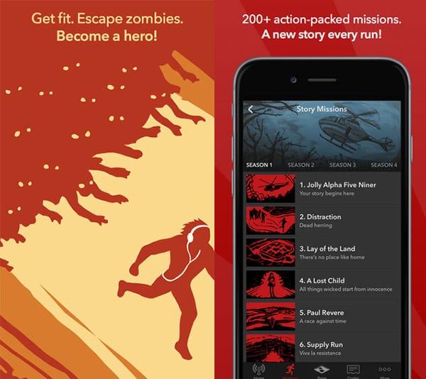 Zombies, Run! App for Stroller Phone Mounts