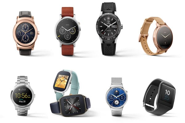Android wearable devices
