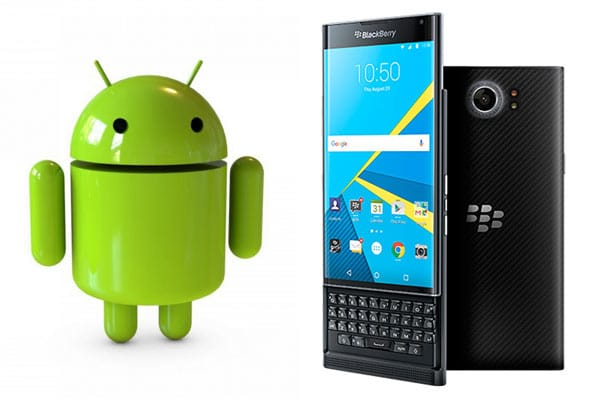 BlackBerry Throws Full Support Behind the Android Platform