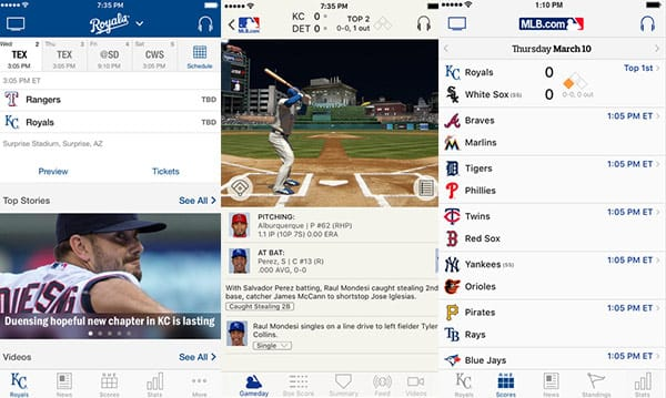 MLB.Com At Bat App Has Just Been Updated for Spring Training 2016