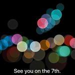 Apple Announces iPhone 7 Event for September 7