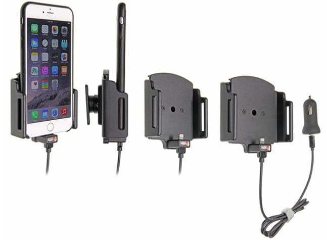 Adjustable Charging Holder with Tilt Swivel and USB Cigarette Lighter Plug (Product #521667)
