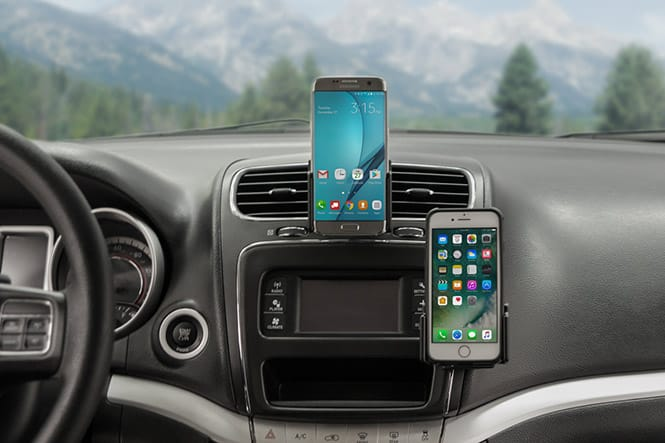 Dodge Journey Dashboard Phone Mounts