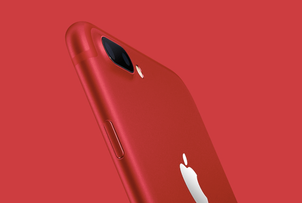 iPhone 7 product red hero