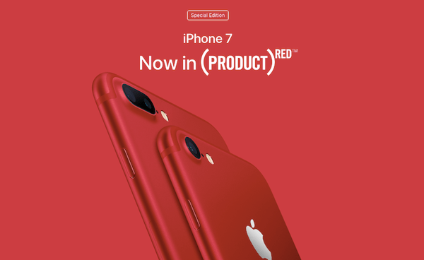 iPhone 7 product red label