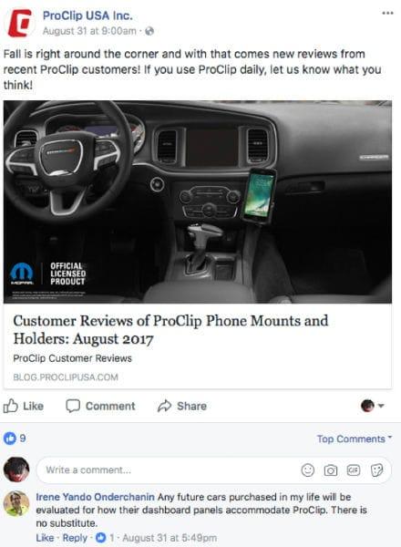 September Customer Reviews