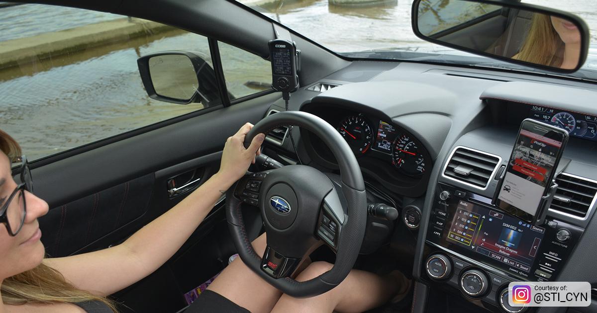 Subaru WRX Sponsor